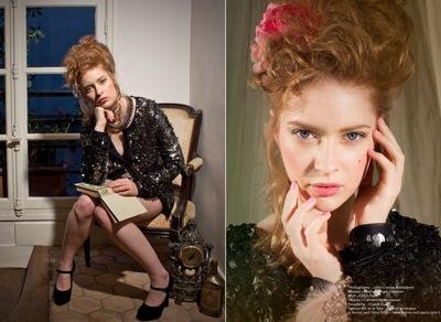 Wafa KMALA Directrice Artistique Stylisme - Editorial Marie-Antoinette