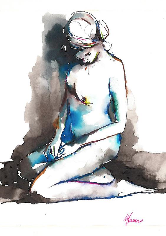 Michele Cancro Painter - Watercolor 21x30