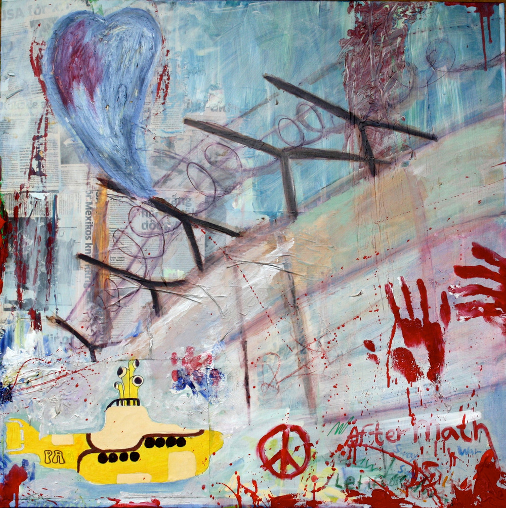 Alexander Ekman Sinclair - ART - The Wall (såld)