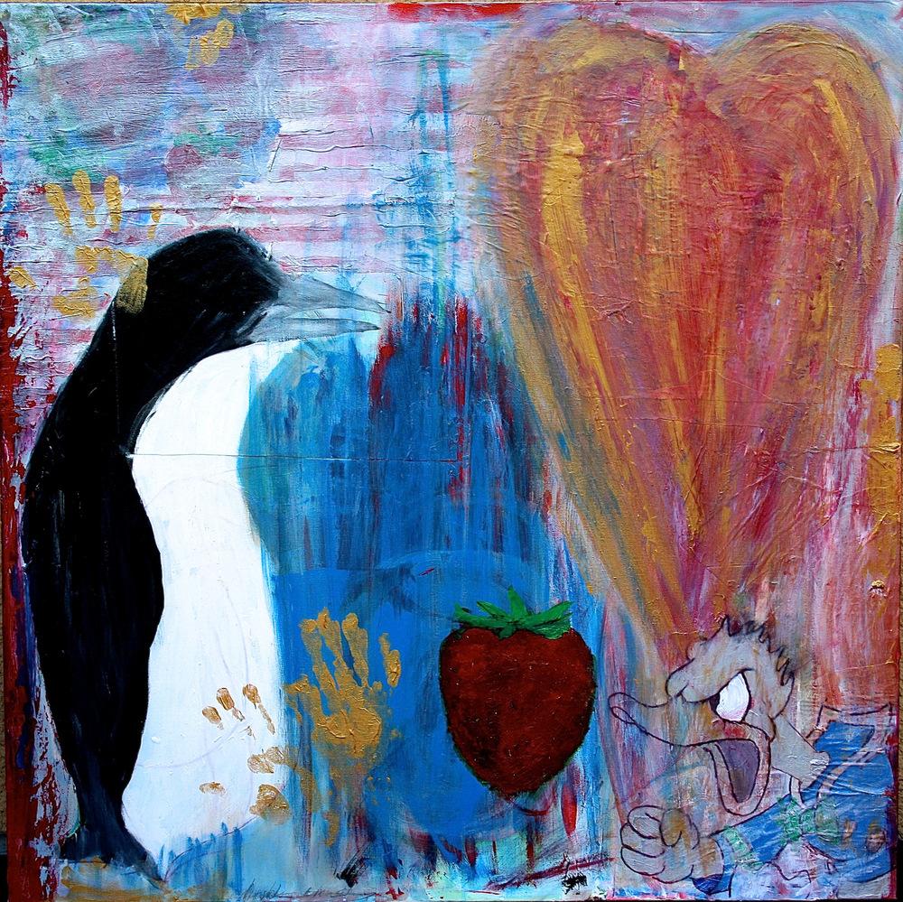 Alexander Ekman Sinclair - ART - Angry Duck (såld)