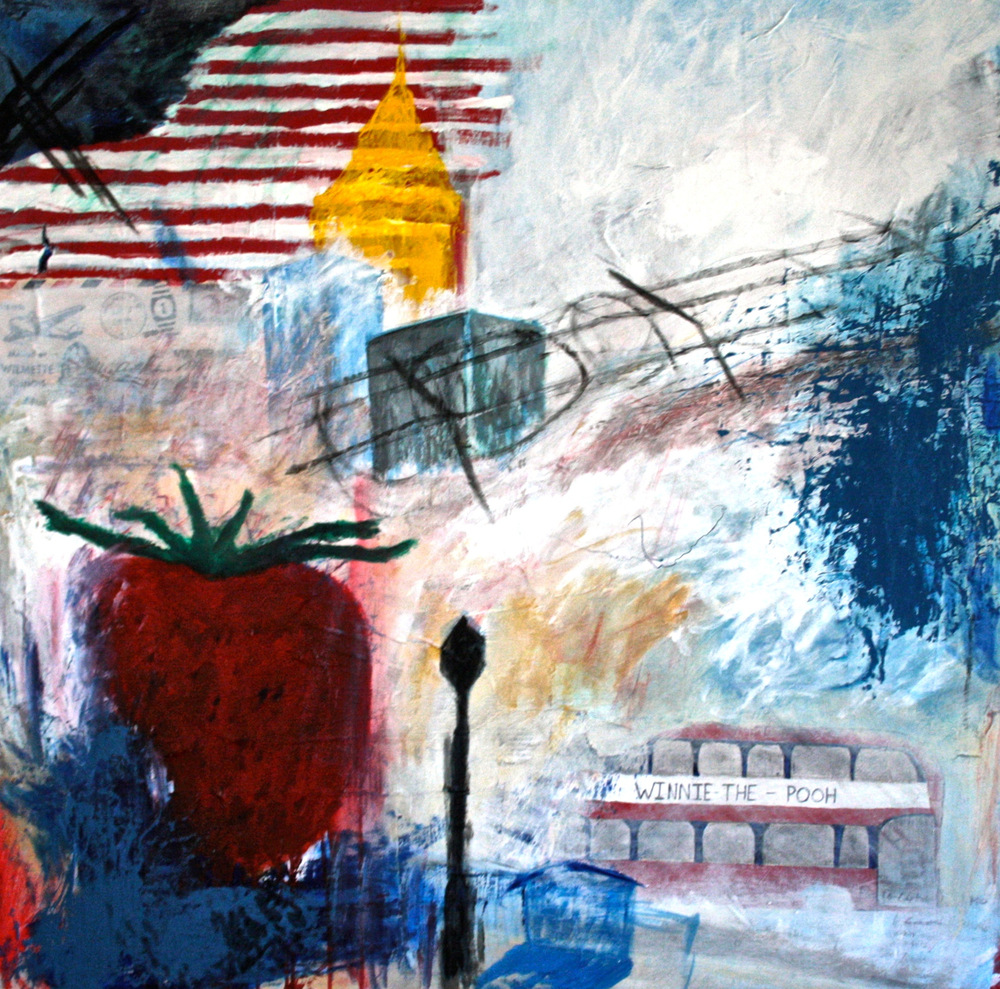 Alexander Ekman Sinclair - ART - The Backstreets (såld)