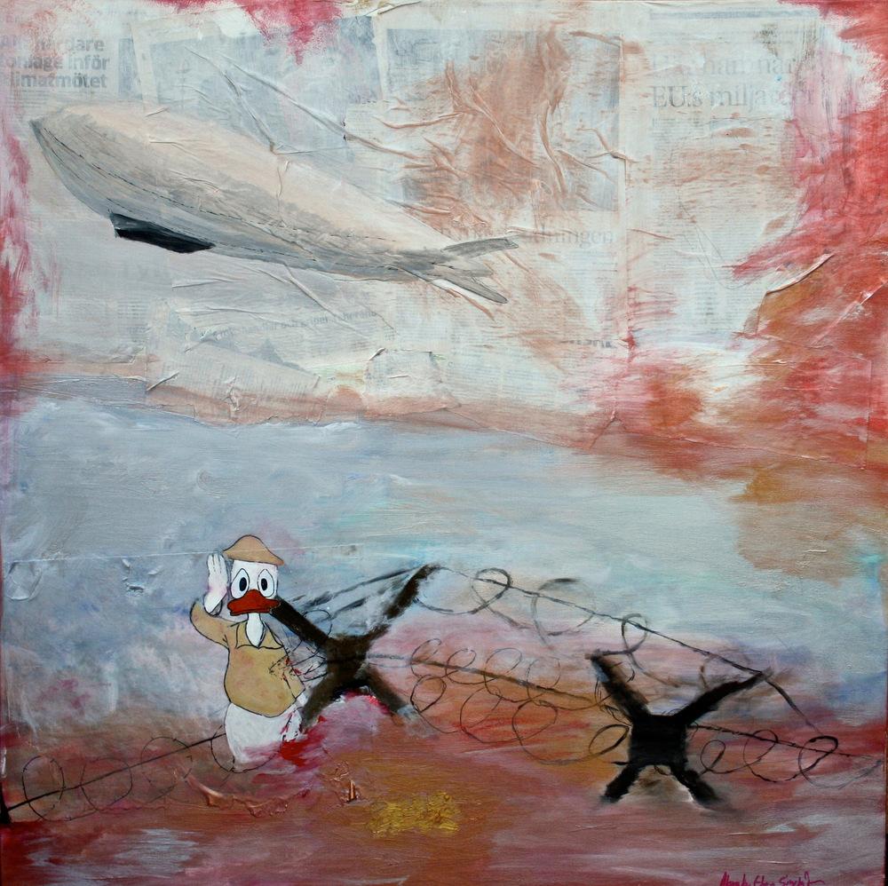Alexander Ekman Sinclair - ART - D-Day (såld)