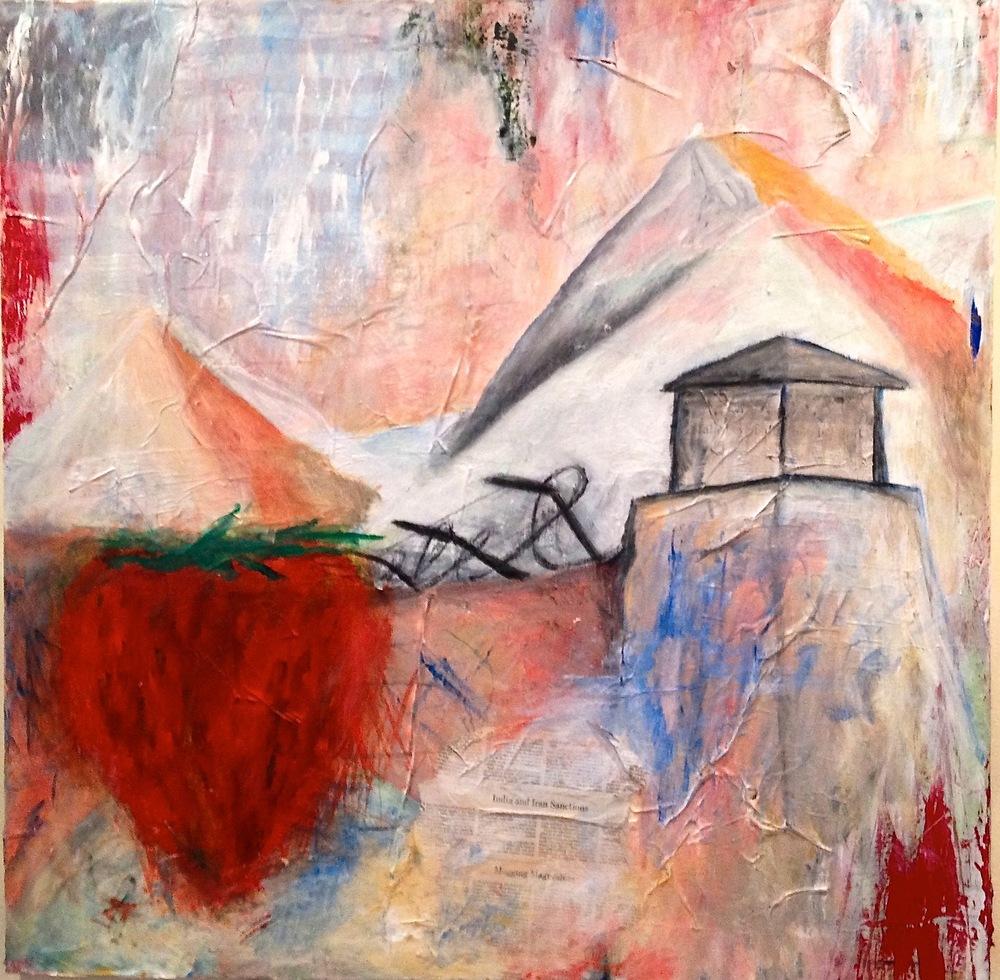 Alexander Ekman Sinclair - ART - Alpin Bunker (såld)