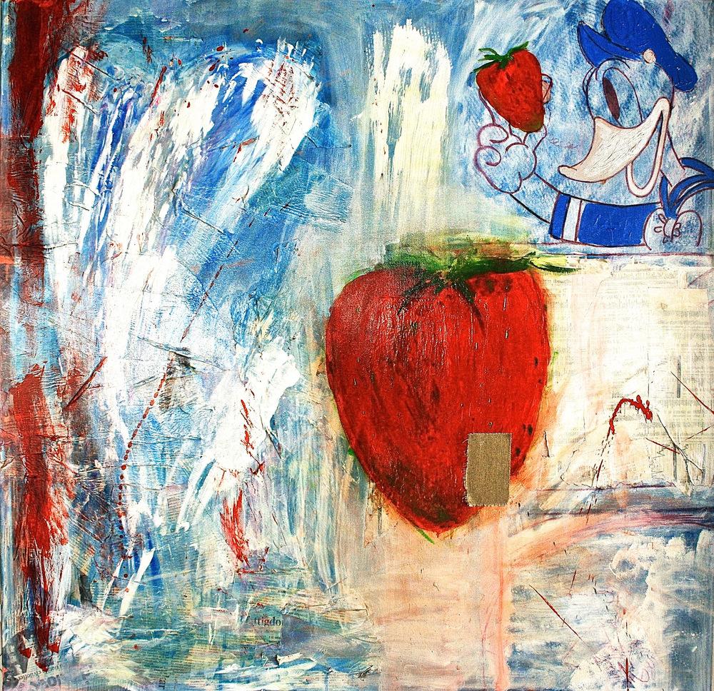 Alexander Ekman Sinclair - ART - Mr. Duck (såld)
