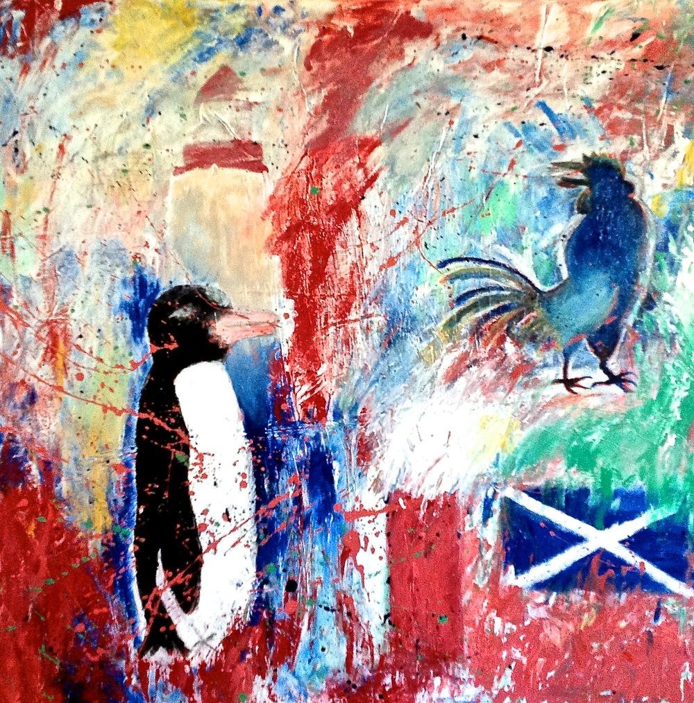 Alexander Ekman Sinclair - ART - Scottish Night (såld)