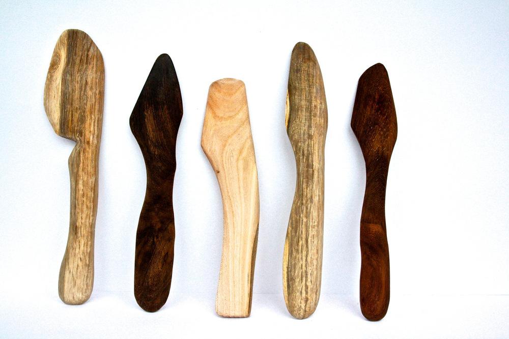 Alexander Ekman Sinclair - ART - En knivserie i trä