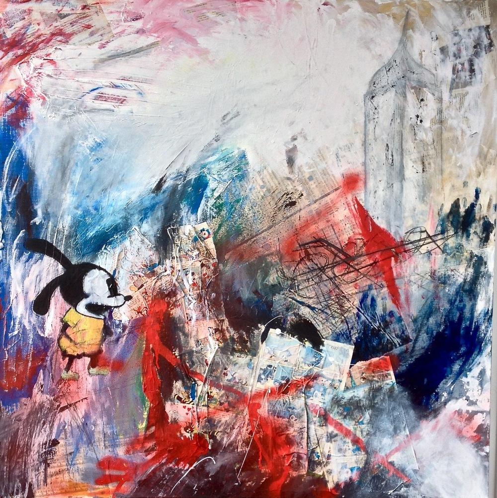 Alexander Ekman Sinclair - ART - About a Rabbit (såld)