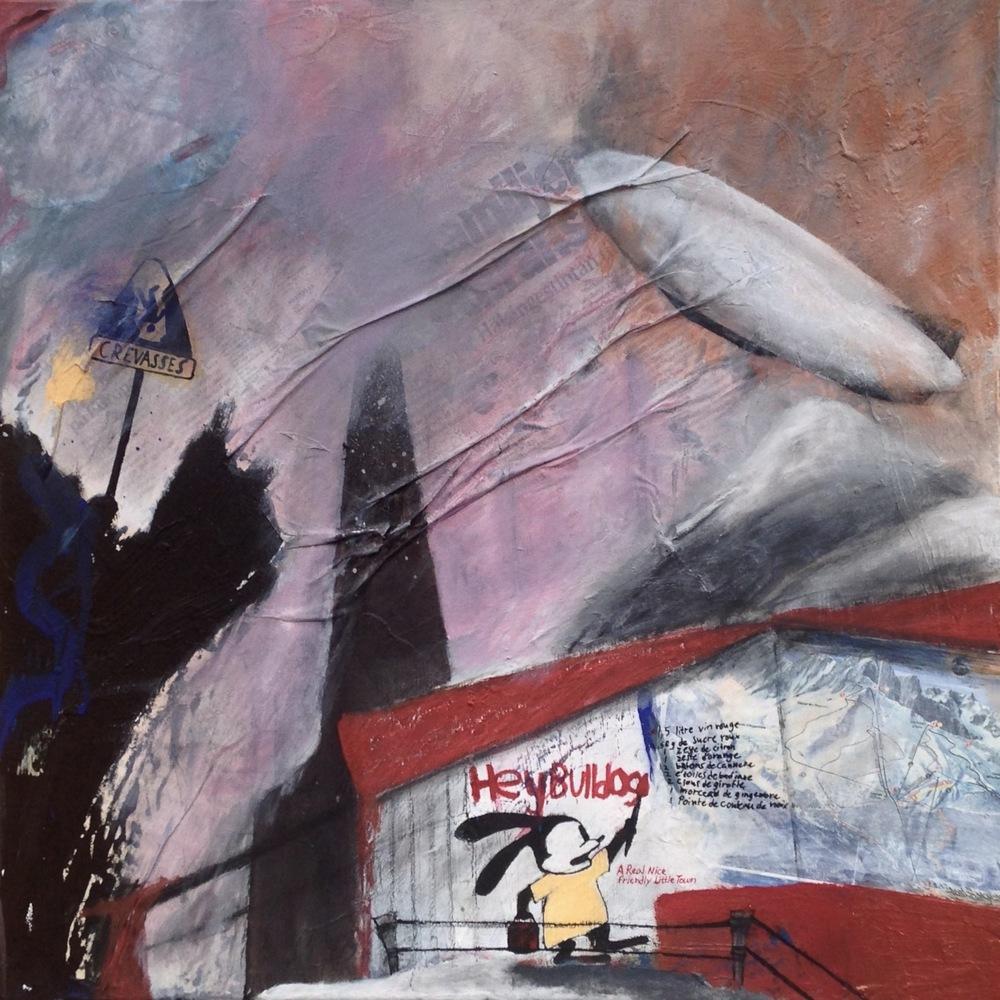 Alexander Ekman Sinclair - ART - A Day In Les Alpes (såld)