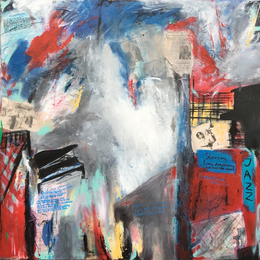 Alexander Ekman Sinclair - ART - Satchmo the Great (såld)