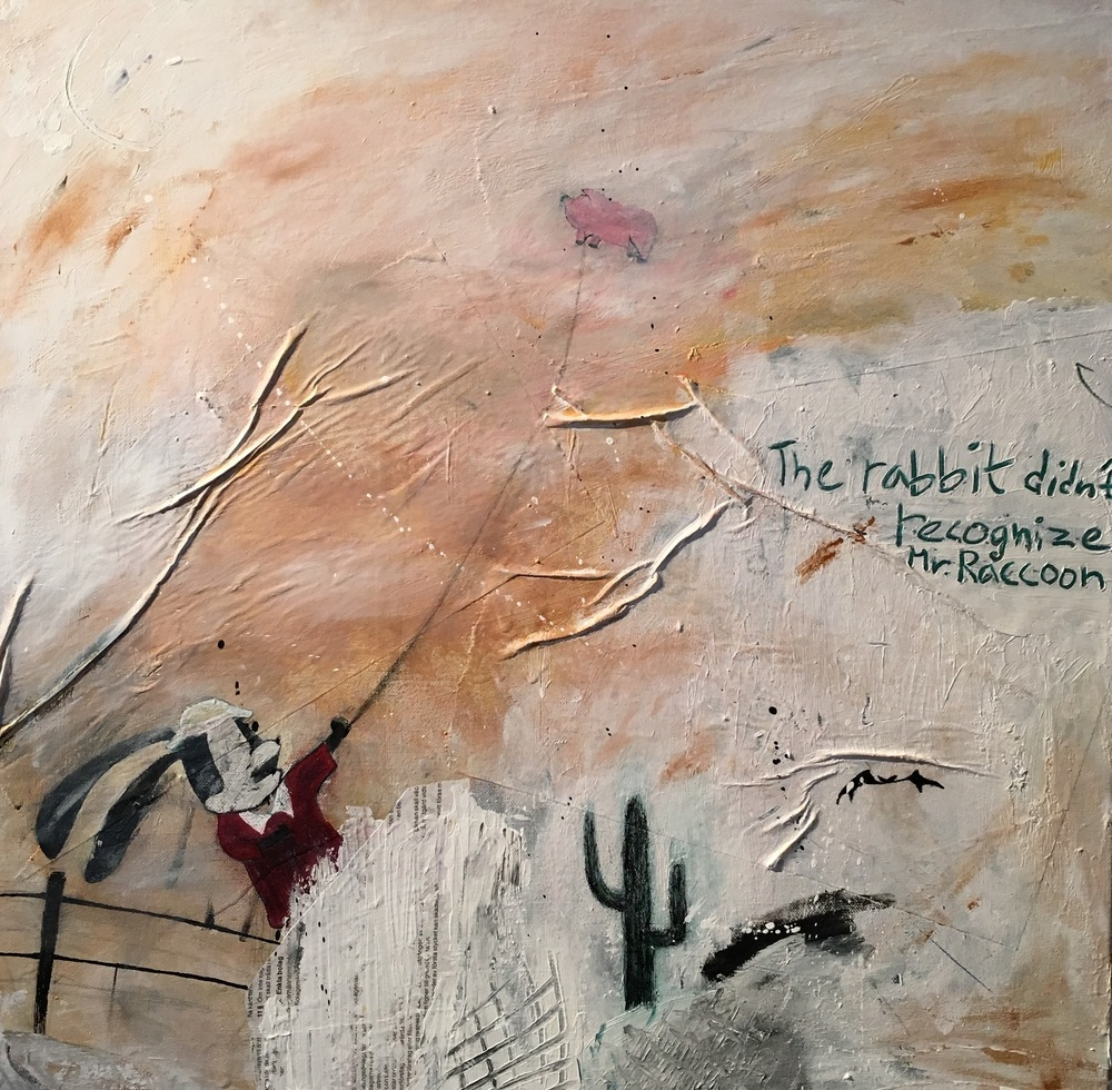 Alexander Ekman Sinclair - ART - Lost in the Mojave Desert (såld)