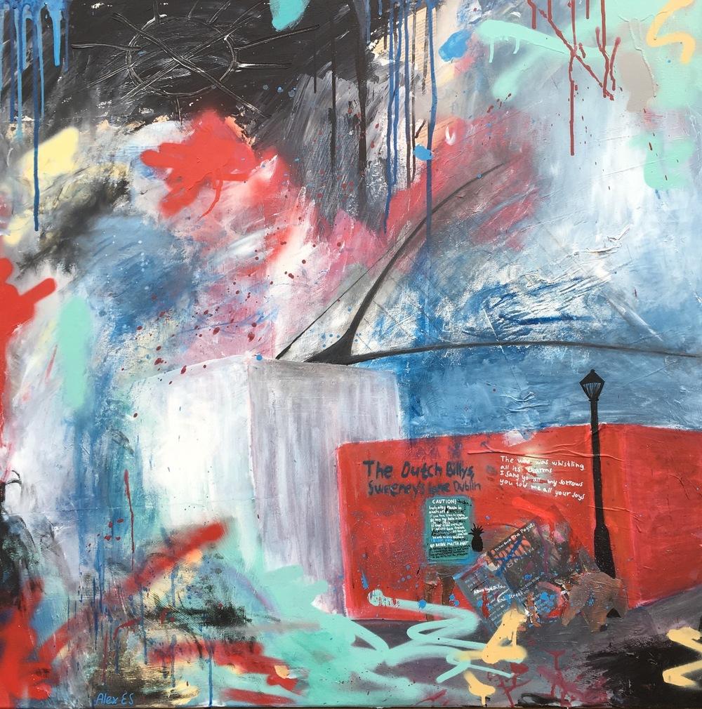 Alexander Ekman Sinclair - ART - Vinyl Dog (såld)