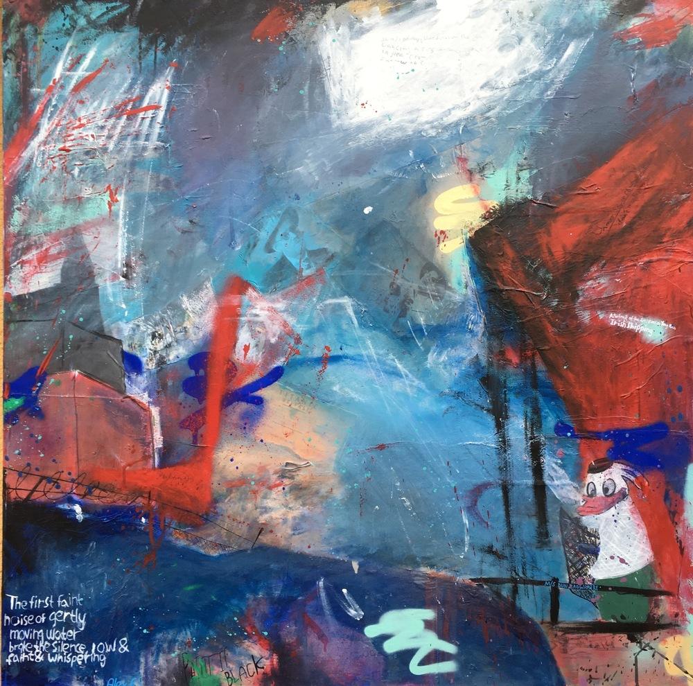 Alexander Ekman Sinclair - ART - James Joyce in Dublin Bay (såld)