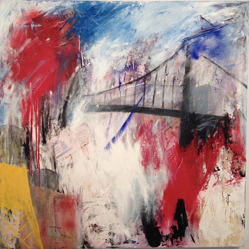 Alexander Ekman Sinclair - ART - Back To Gothenburg (såld)