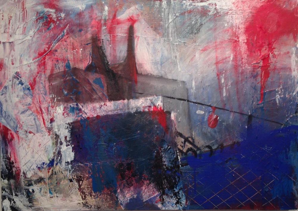 Alexander Ekman Sinclair - ART - Alpbunker (såld)