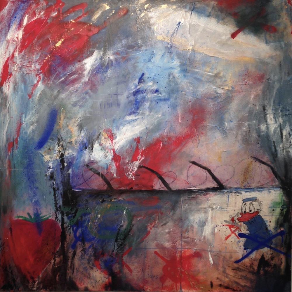 Alexander Ekman Sinclair - ART - Mystery Duck (såld)