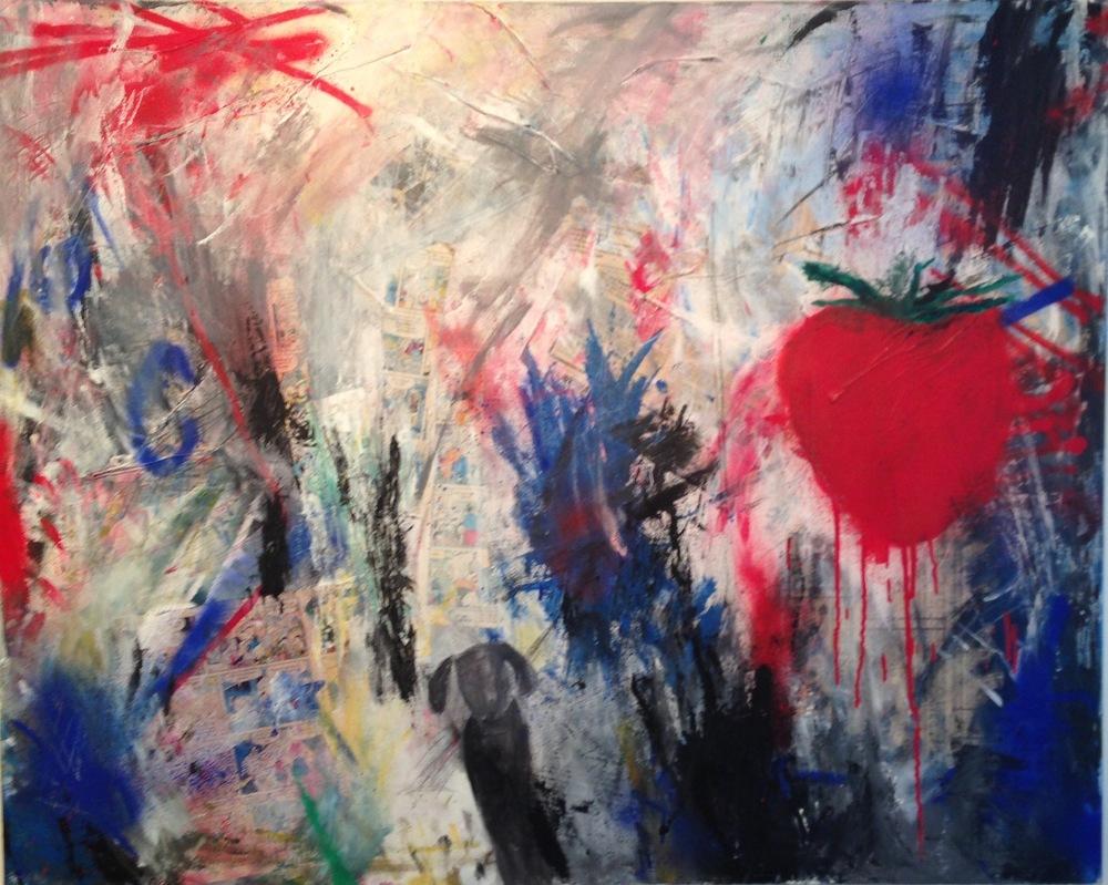 Alexander Ekman Sinclair - ART - Strawberry Garden (såld)