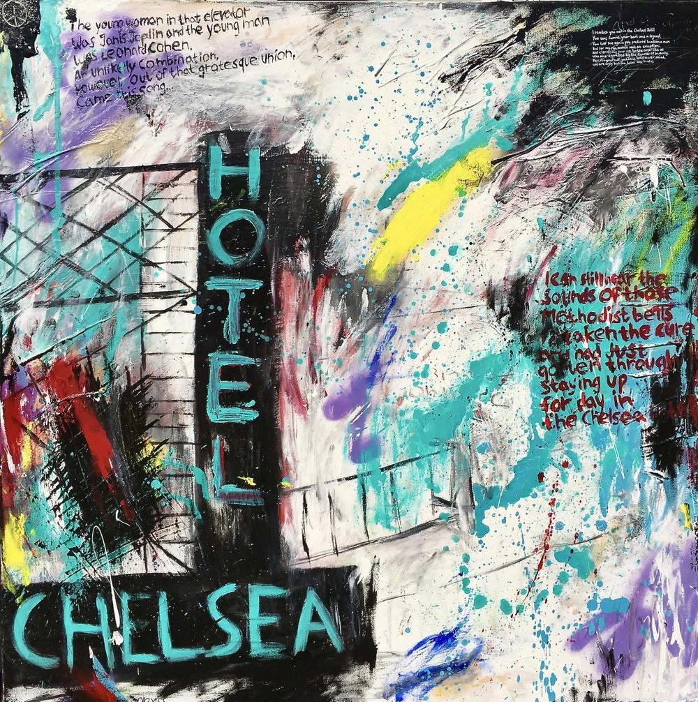 Alexander Ekman Sinclair - ART - Chelsea Hotel (såld)
