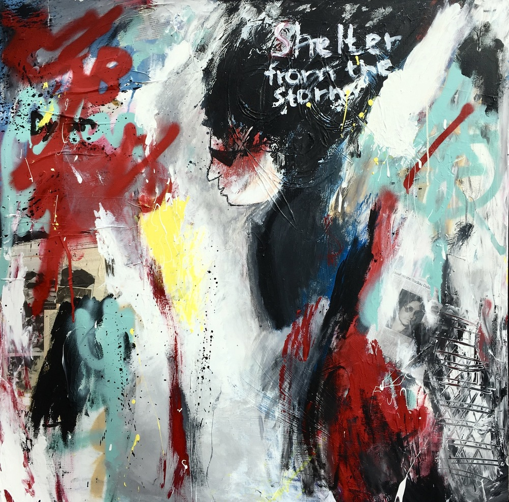 Alexander Ekman Sinclair - ART - Shelter From the Storm (såld)