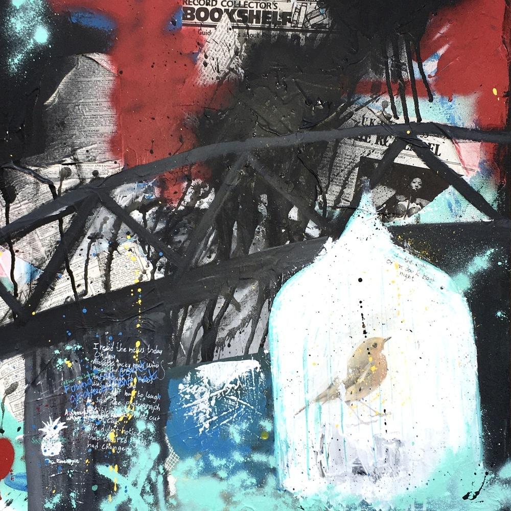 Alexander Ekman Sinclair - ART - Bridge Bird (såld)