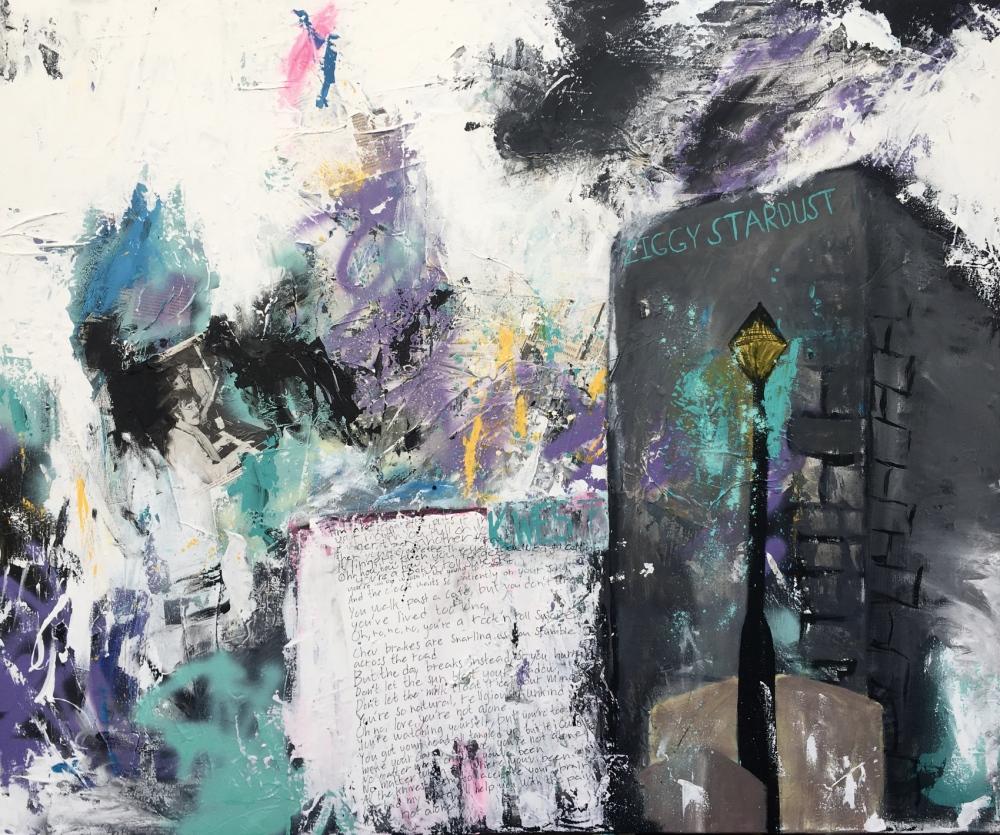 Alexander Ekman Sinclair - ART - Bowie (såld)