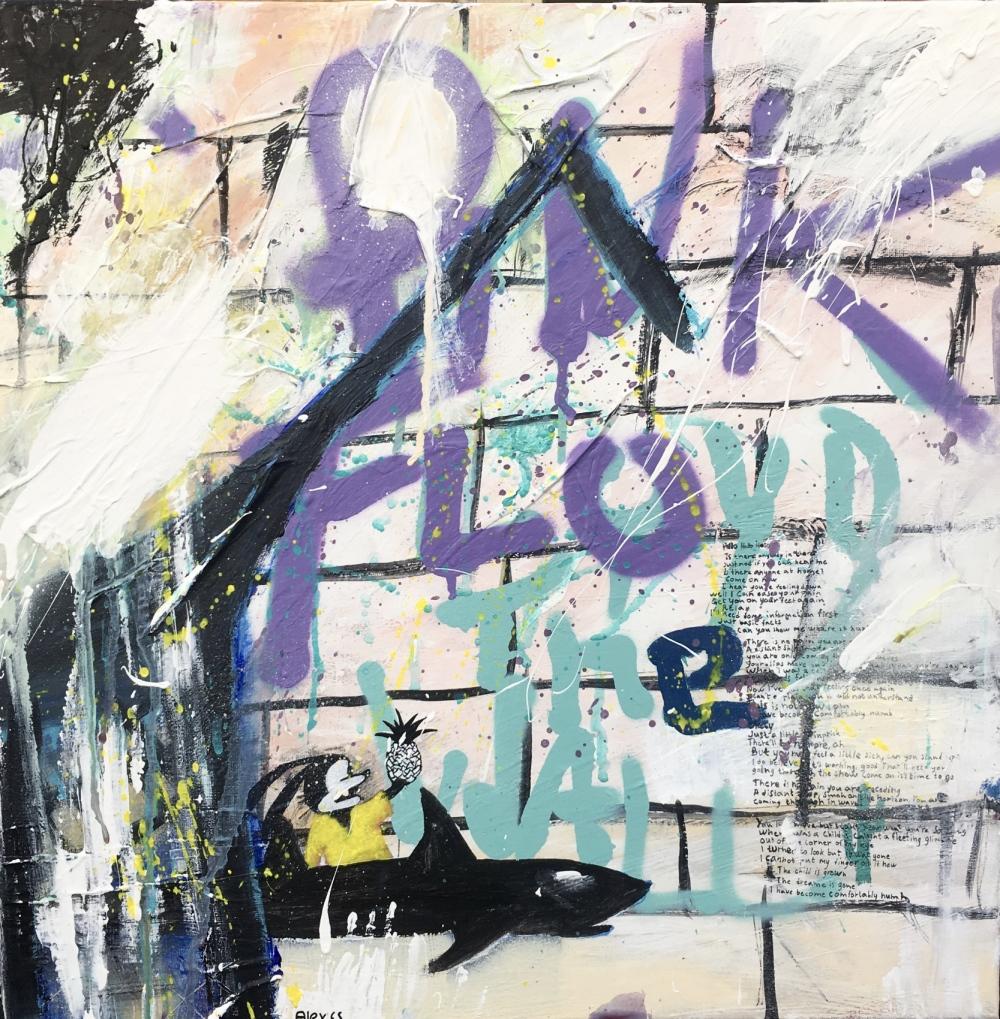 Alexander Ekman Sinclair - ART - The Other Side (såld)