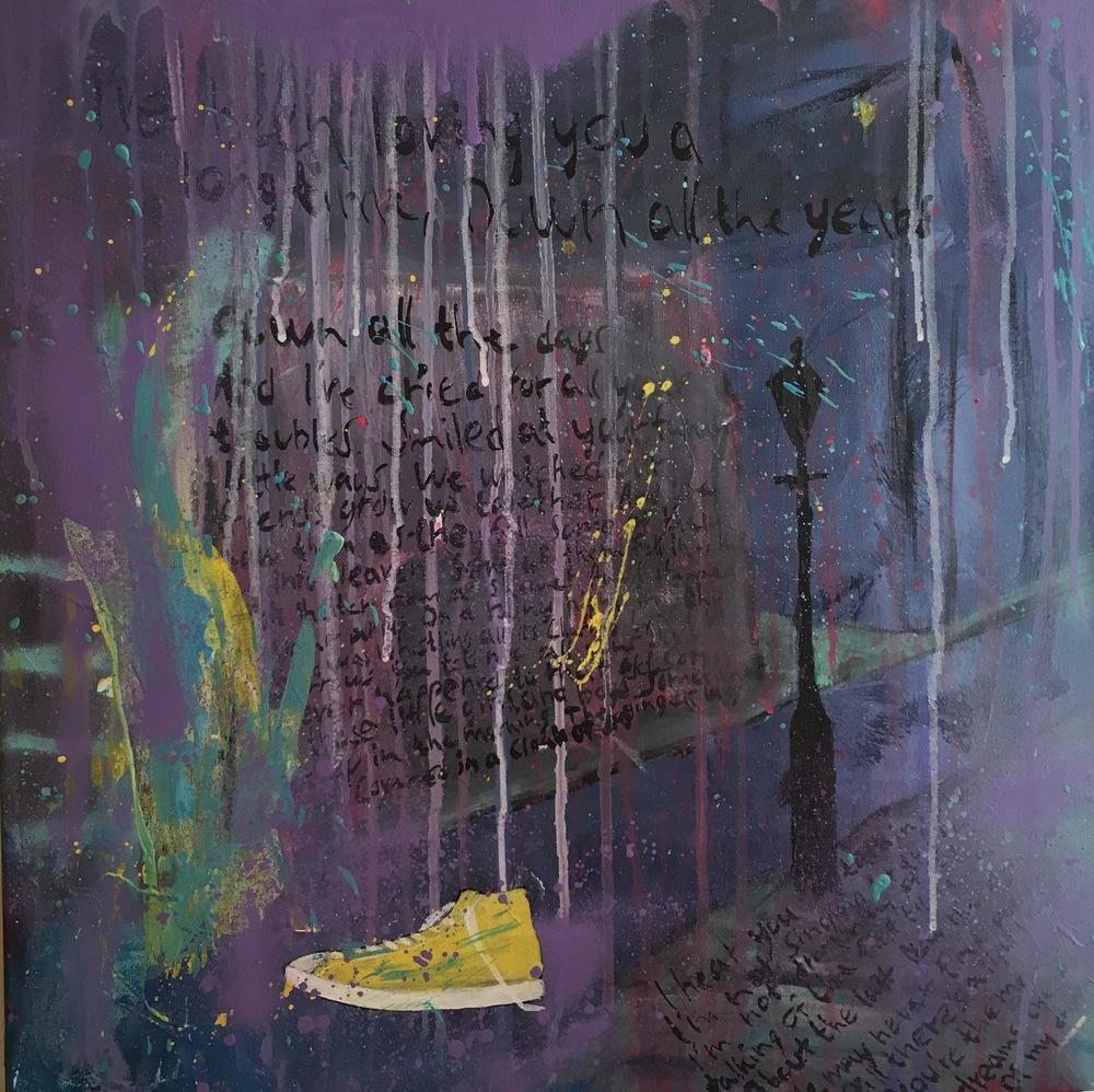 Alexander Ekman Sinclair - ART - A Rainy Night In Soho (såld)
