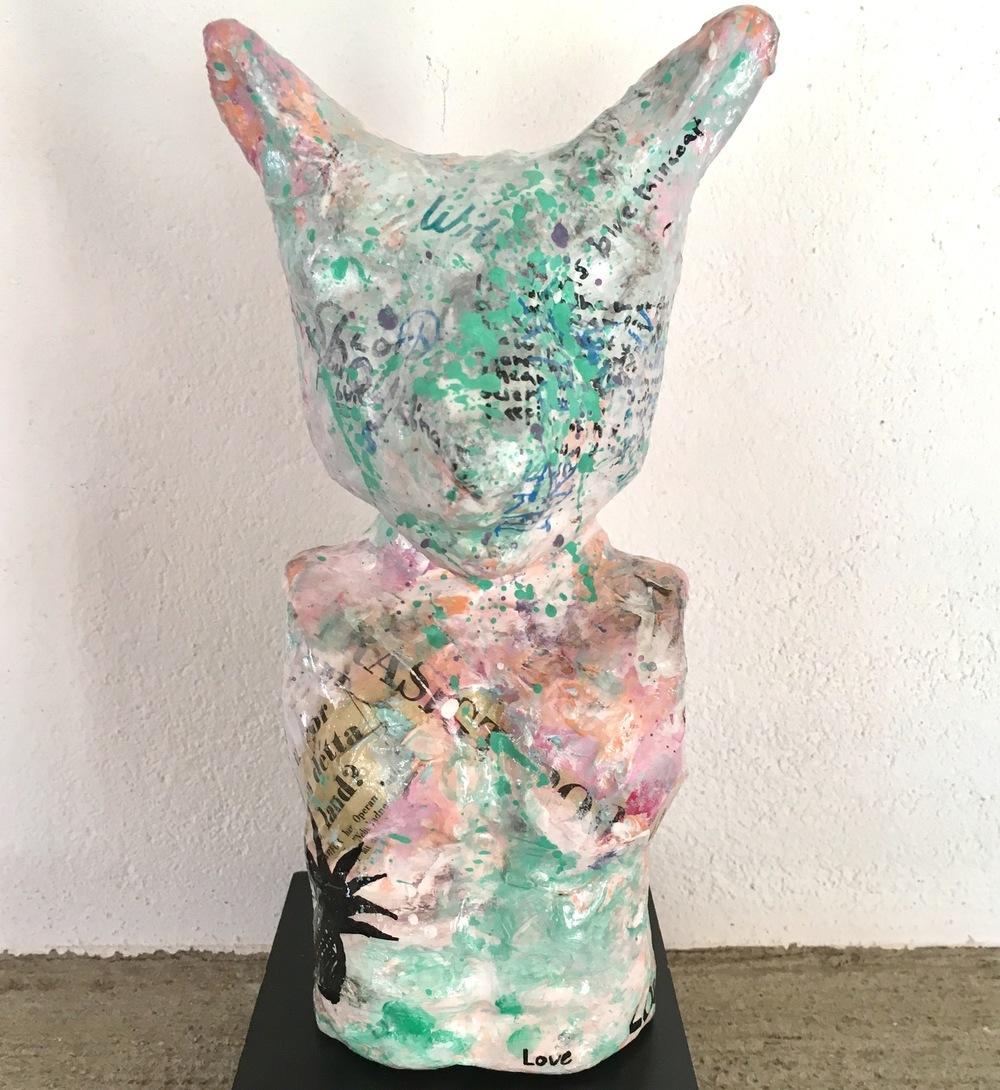 Alexander Ekman Sinclair - ART - Dog-rabbit White Human Body
