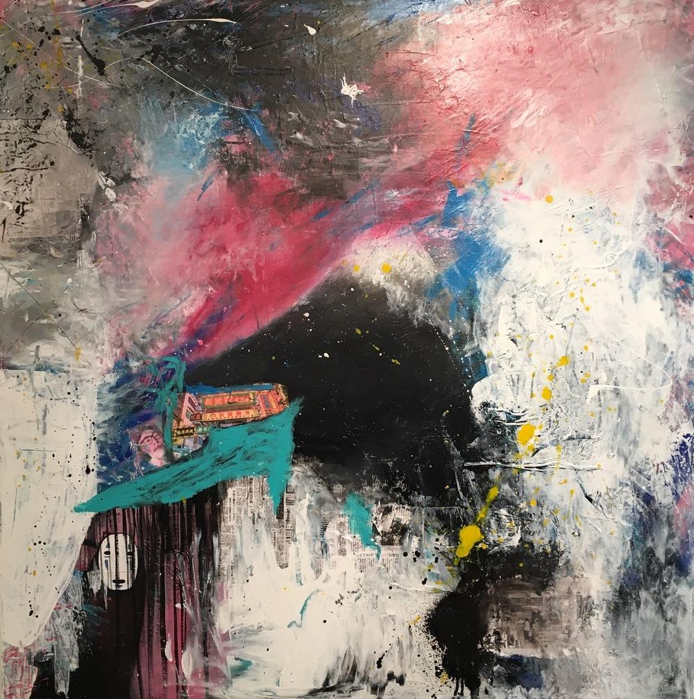 Alexander Ekman Sinclair - ART - Walking through Japan
