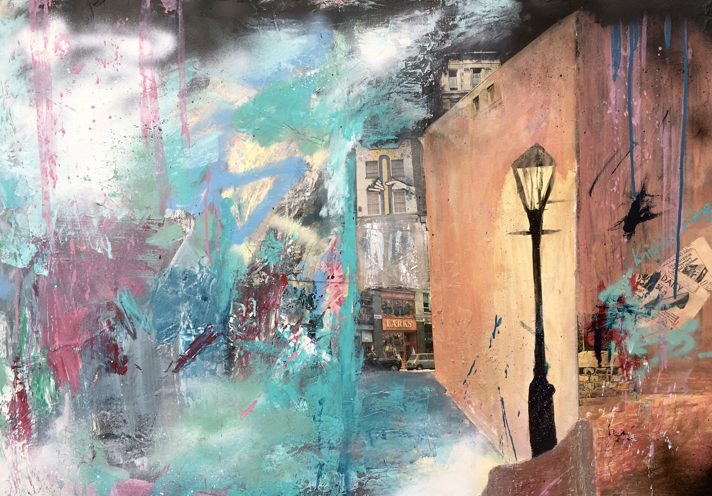 Alexander Ekman Sinclair - ART - Midnight Rambler in London