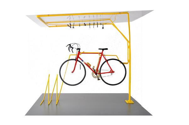 chauvinamandine - Maquette 1/10, atelier de réparation pour vélo ©Chauvin Amandine