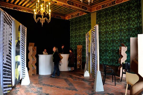 chauvinamandine - Exposition sur la création de lidentité visuelle des 23e Rencontres cinématographiques de Dijon