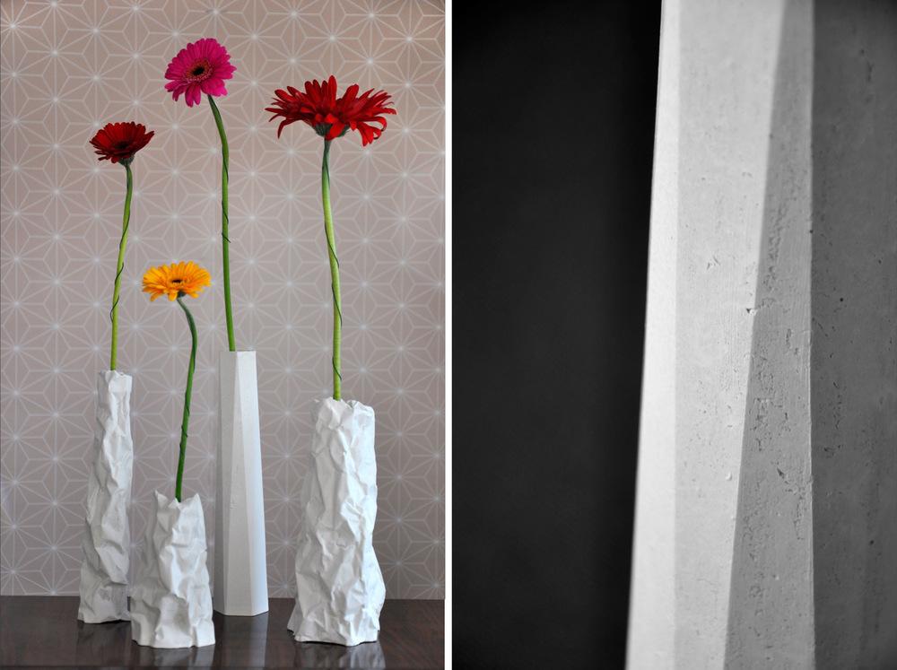 chauvinamandine - Co-édition avec Séries Limitées des vases TOTEM & FALAISE. Design and hand made by CHAUVIN AMANDINE, 2015.