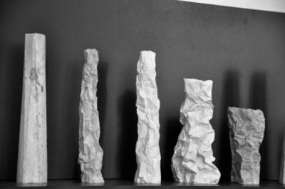 chauvinamandine - Vases séries Totem & série Falaise, 2014.