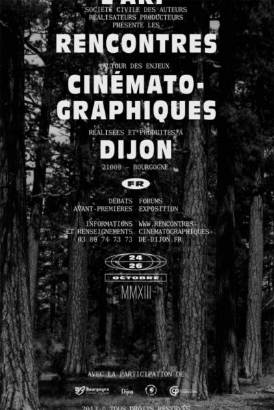 chauvinamandine - Rencontres Cinématographiques de Dijon, Création de lidentité visuelle, 2013.