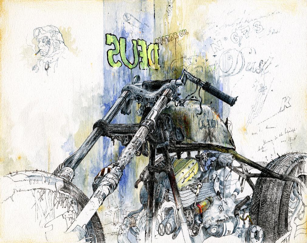 Daniel B Art - Deus Ex Machina