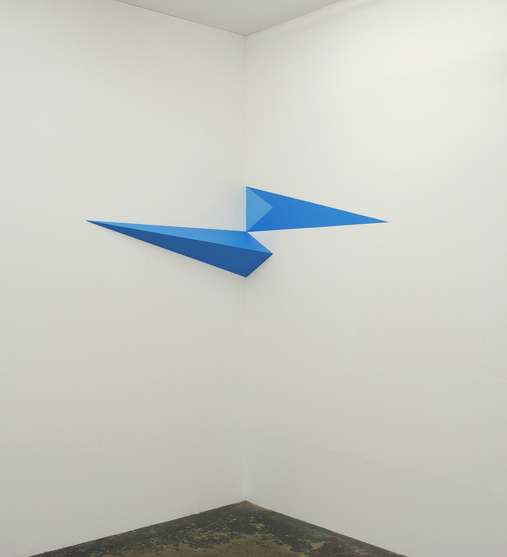 georgemeyricksculpture - Double Wedge 2008, Poussin Gallery