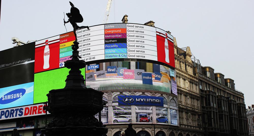 Whos That Girl - Trafalgar Square