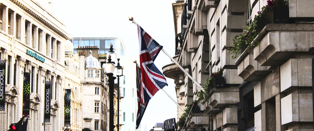 Whos That Girl - London Flag