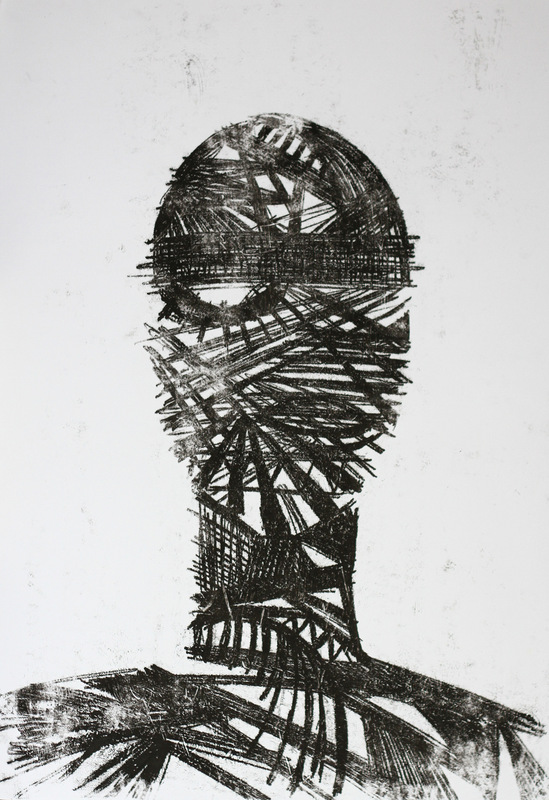 Dobrawa Bies - Impositions, 2013, monotype