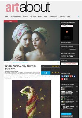 Thierry Bansront Photographer - ArtAbout Magazine - Fev 2016