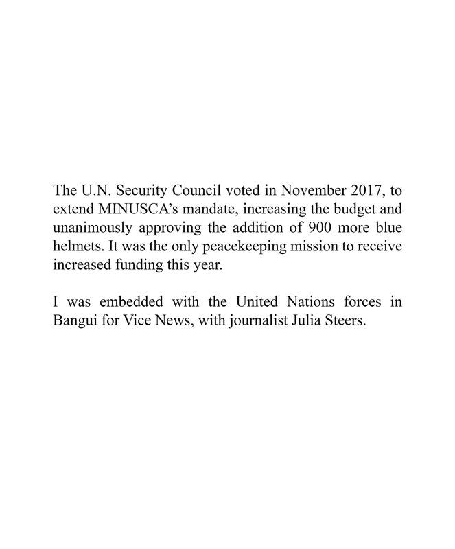 Adrienne Surprenant - https://news.vice.com/en_us/article/7xwwna/un-peacekeepers-war-in-car