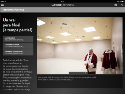 Adrienne Surprenant - La Presse + (2014)