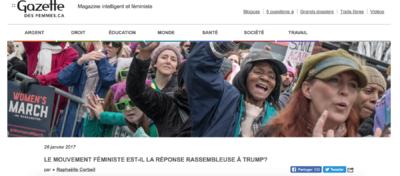 Adrienne Surprenant - Gazette des femmes (2017)