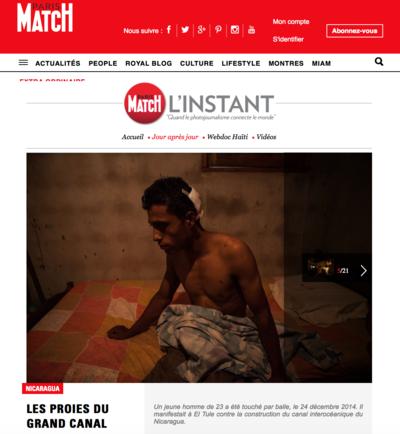 Adrienne Surprenant - Linstant Paris Match (2015)