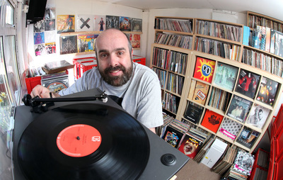 Paul Marriott Photography - Smallest record shop in UK