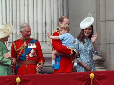 Paul Marriott Photography - Prince George at Trooping of the Colour