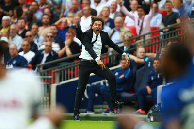 Paul Marriott Photography - Antonio Conte celebrates a Chelsea goal