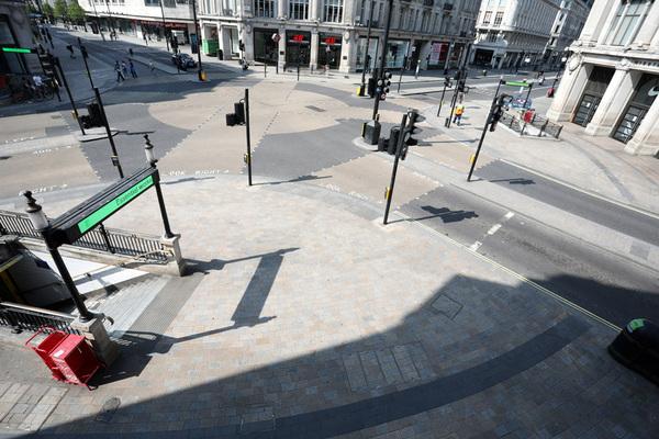 Paul Marriott Photography - Oxford Street/Regent Street during lockdown