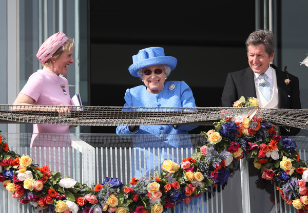 Paul Marriott Photography - Queen Elizabeth II at the Investec Derby