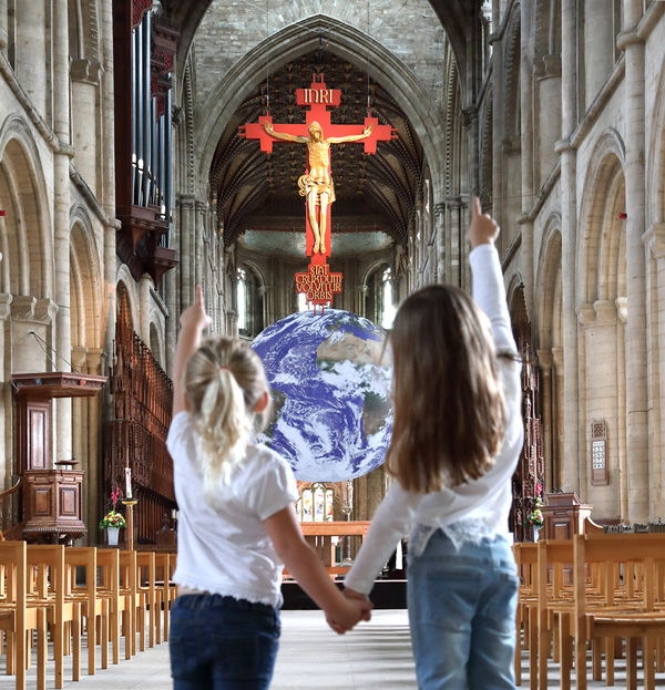 Paul Marriott Photography - Gaia Earth in Peterborough Cathedral
